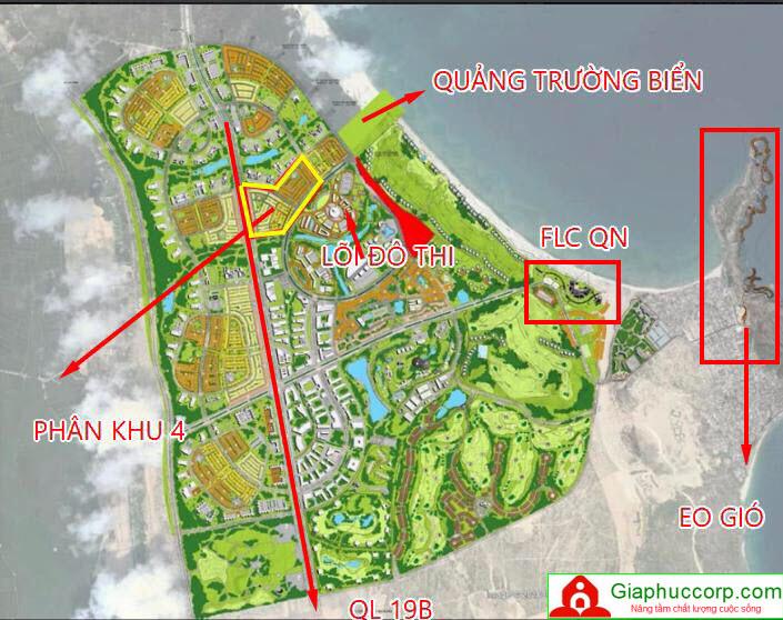 Kết quả hình ảnh cho Phân khu 4 khu đô thị Nhơn Hội New City