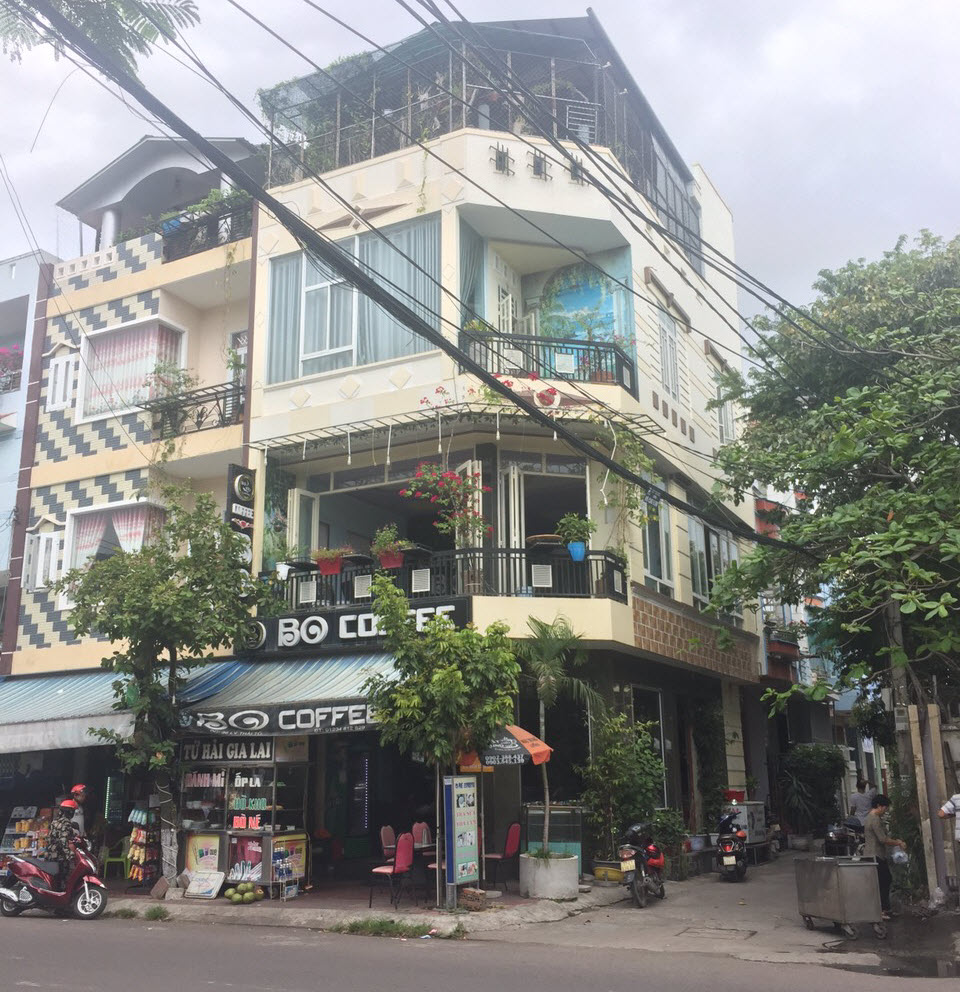 Nhà mặt tiền đường Lý Thái Tổ