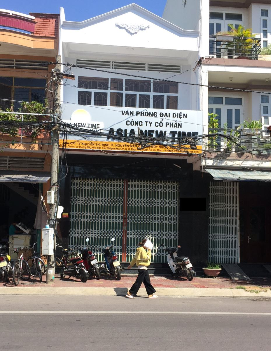 Nhà đất đường Nguyễn Thị Định Quy Nhơn