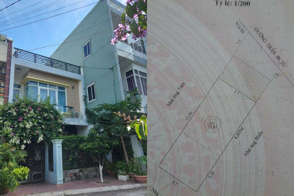 Nhà đất đường Trần An Tư Quy Nhơn